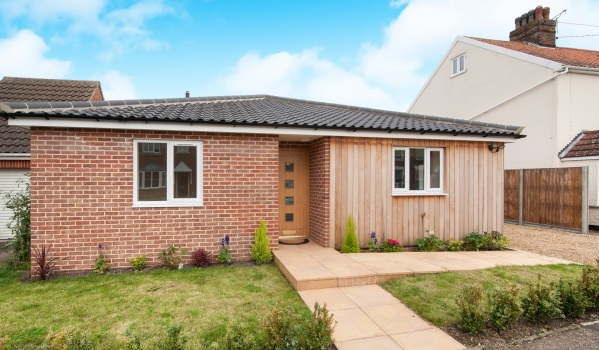 New-build two-bedroom detached bungalow in Diss