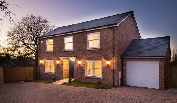New-build four-bedroom detached house in Kingston Blount