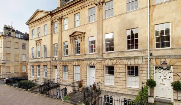 Georgian flats in Bath