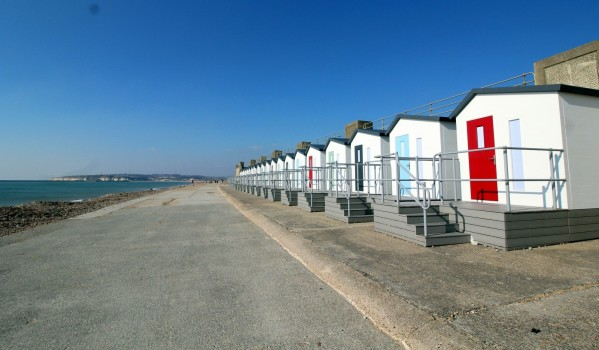 Beach hut in Seaford