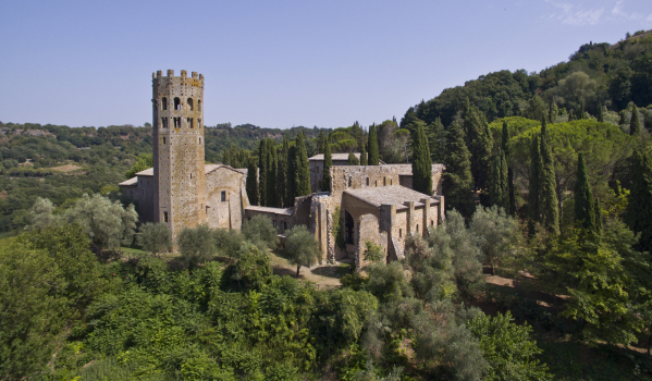 27-bedroom chateau in Orvieto