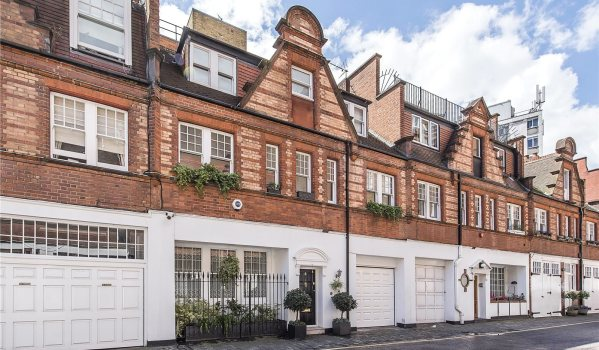 Three-bedroom mews house near Sloane Square