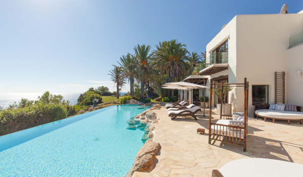 Eight-bed villa in Ibiza