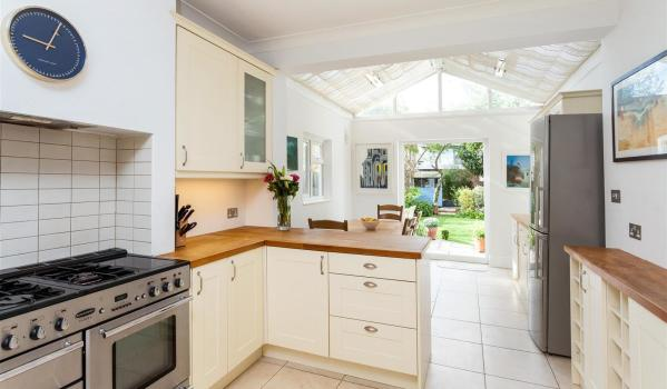 four-bedroom semi-detached house in West Wimbledon