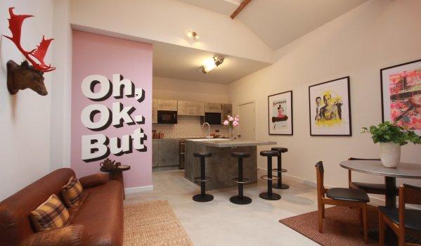 Three-bedroom flat in Birmingham to rent
