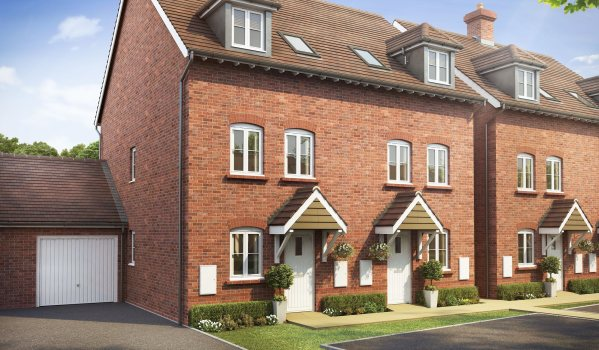 Brand new three-bedroom semi-detached house in Henfield