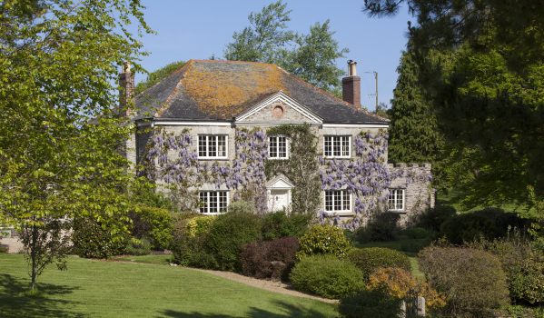 Four-bedroom country house in Mylor