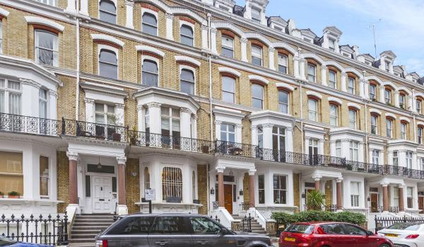 Victorian maisonette in Kensington
