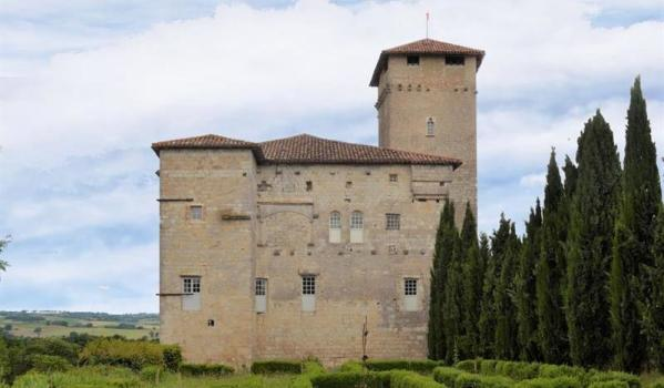 Four-bedroom castle in Lectoure