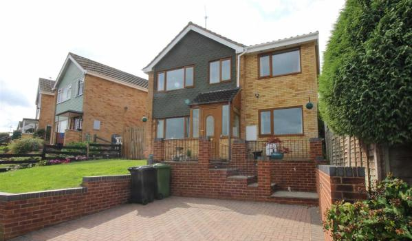 Three-bedroom detached house in Mitcheldean for £235,000