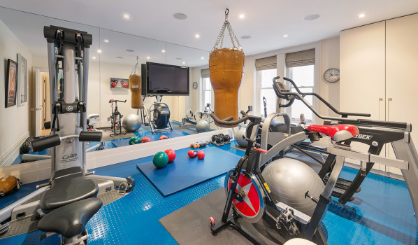 Homes with built in gyms for sale zoopla