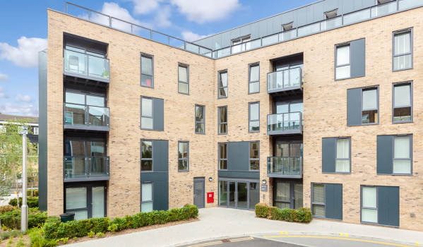 New-build one-bedroom flat in Addlestone
