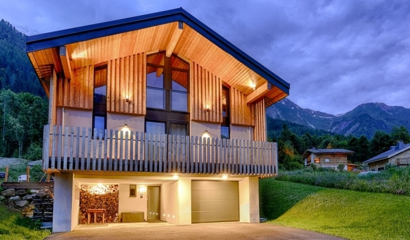 Three-bedroom chalet in Les Houches