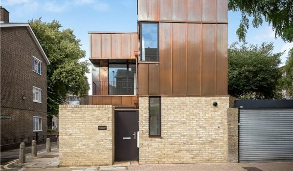 New build two-bedroom detached house in Oval