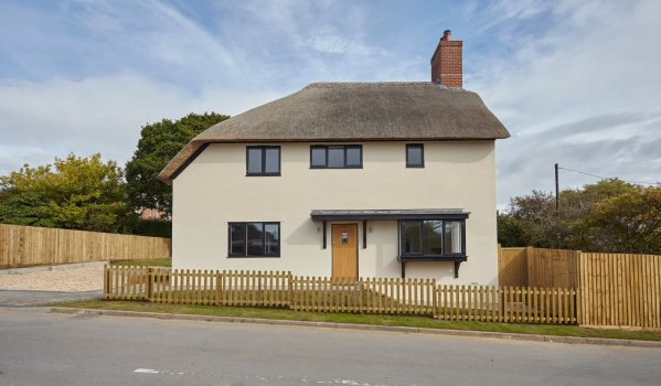 New build three-bedroom cottage in Lytchett Matravers