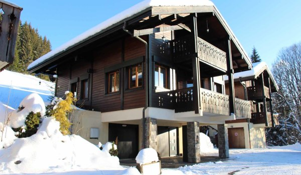 Four-bedroom chalet in Les Folliets