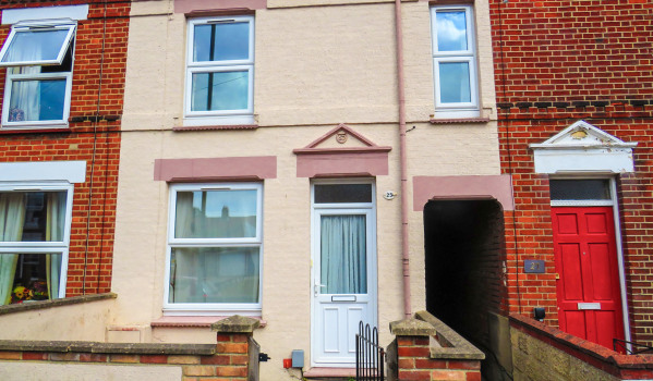 Three-bedroom terraced house for £160,000