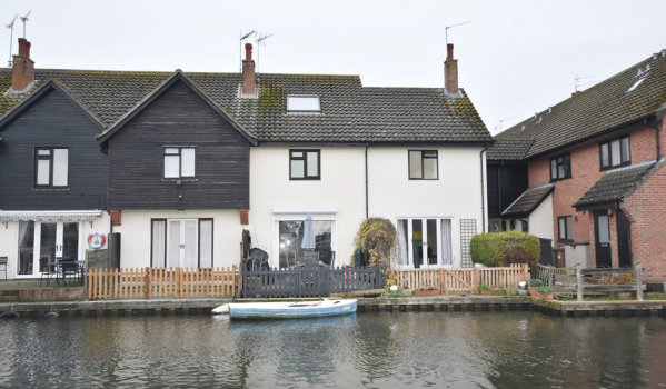 Three-bedroom town house for £275,000