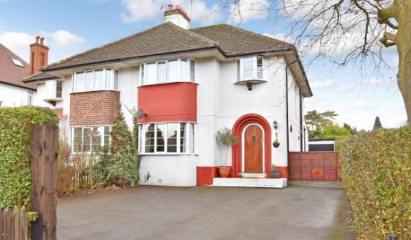 Three-bedroom semi-detached house for sale for £450,000