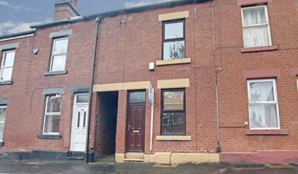 Three bed terraced house for sale for £135,000