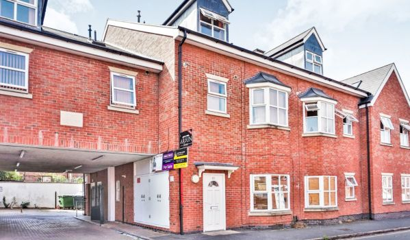 Two-bedroom flat for £105,000 in Coventry