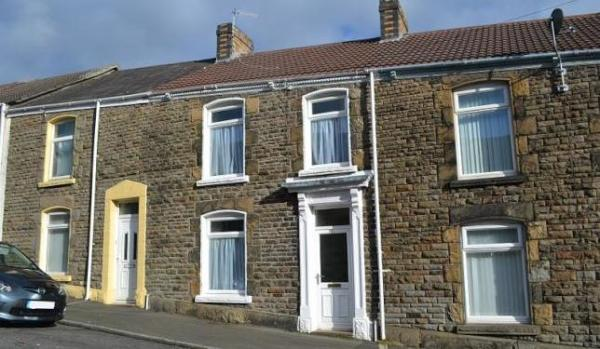 Two-bedroom terraced house for £95,000