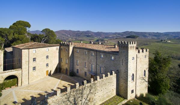 18-bedroom castle in Perugia