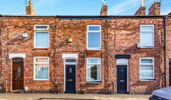 1 bed terraced house for £95,000