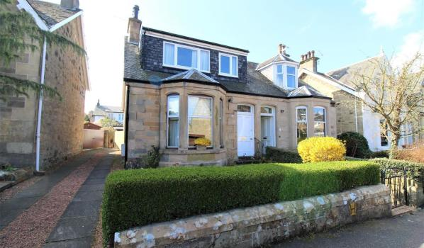 A three-bedroom semi-detached house in Falkirk
