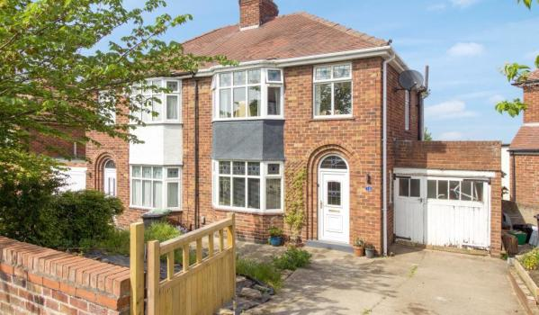 Three-bedroom semi-detached house for sale in York for £260,000