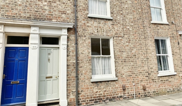 Two-bedroom terraced house to rent in York for £850 pcm
