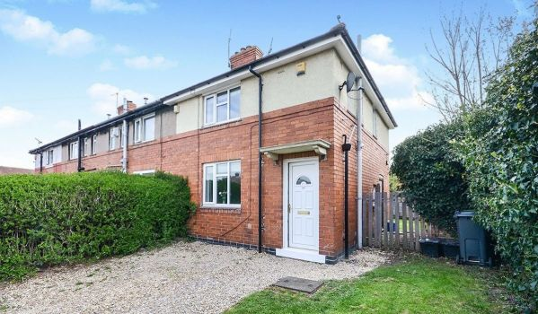 Three-bedroom end terrace house for sale in York for £200,000