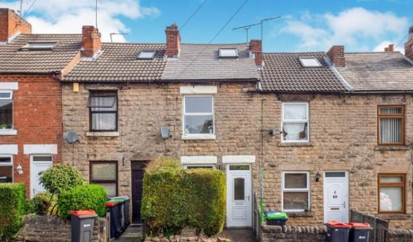 Two bedroom terraced house for sale for £100,000