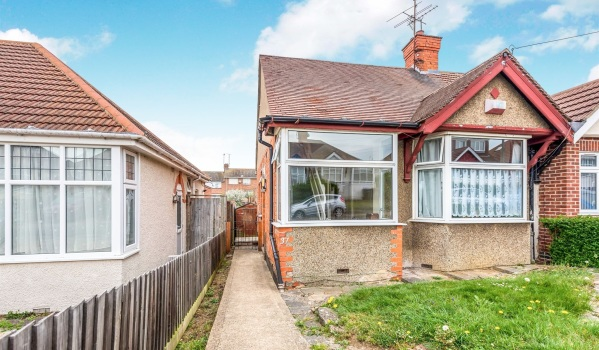 Two-bedroom semi-detached house for £140,000
