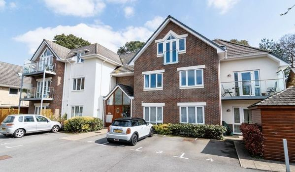Two-bedroom flat for £230,000