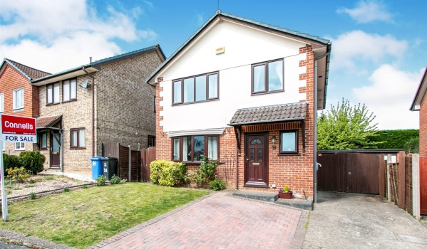 Four-bedroom detached house for £375,000