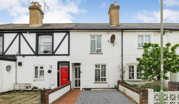 What you can buy: Two-bedroom terraced house in Farnborough, for £280,000