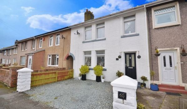 Three-bedroom terraced house in Whitehaven, for £114,950