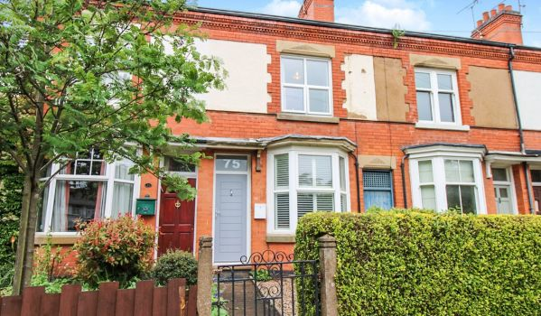 Two-bedroom terraced house in Blaby, for £190,000
