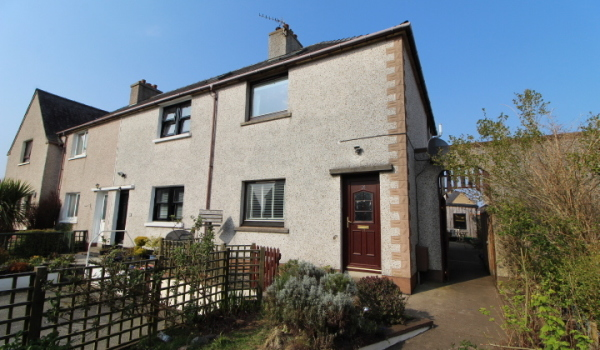 Three-bedroom end terrace house in Stornoway, Isle Of Lewis, for £120,000