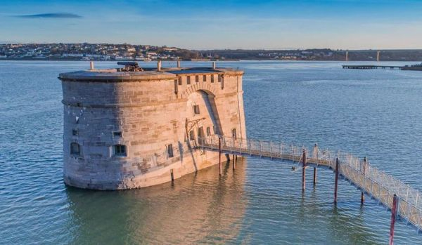 2. Offshore 19th-century Gun Tower in Pembroke for £70,000 (auction)