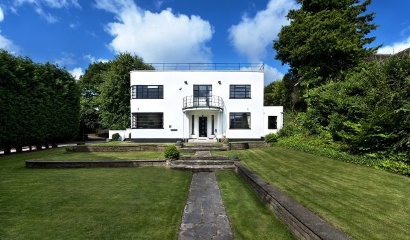 Art deco house for sale in Sutton Coldfield, Birmingham