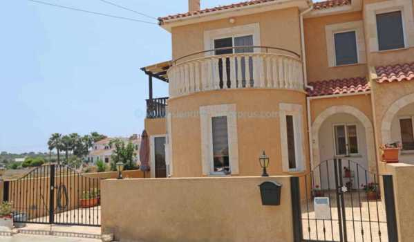 Three-bedroom semi-detached house in Xylofagou, Cyprus, for sale