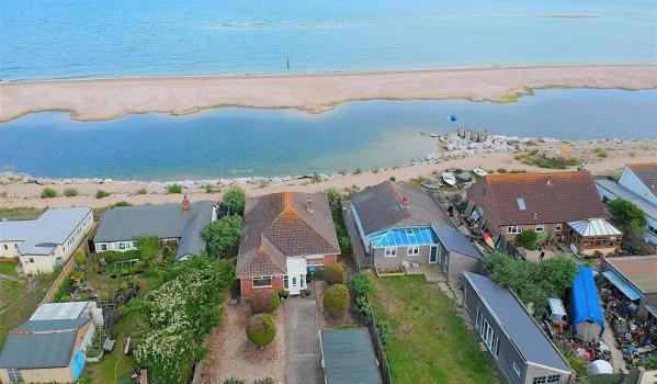 Two-bedroom beachfront detached bungalow on Pagham Seafront