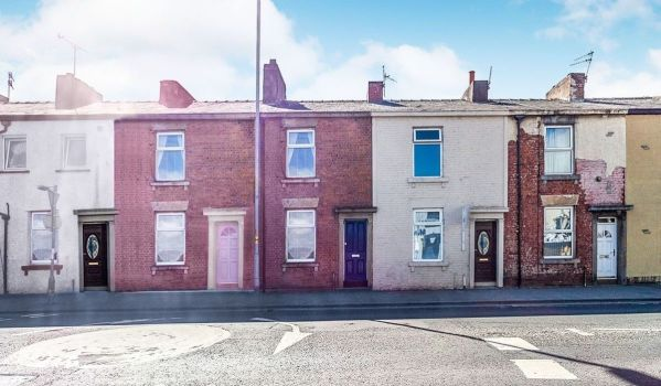 Two-bedroom terraced house for £65,000