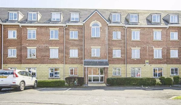 Two-bedroom flat for £99,950
