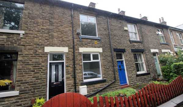 Two-bedroom terraced house in Bolton for £139,950