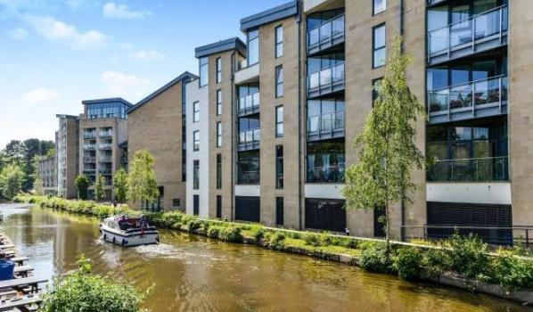 Two-bedroom flat in Lancaster for £180,000
