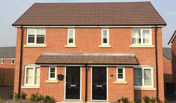 Two-bedroom end terrace house in Coventry for £128,796