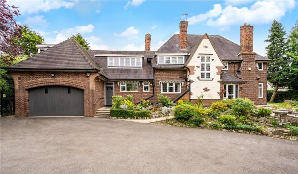 Five-bedroom detached house in Leicester for £925,000